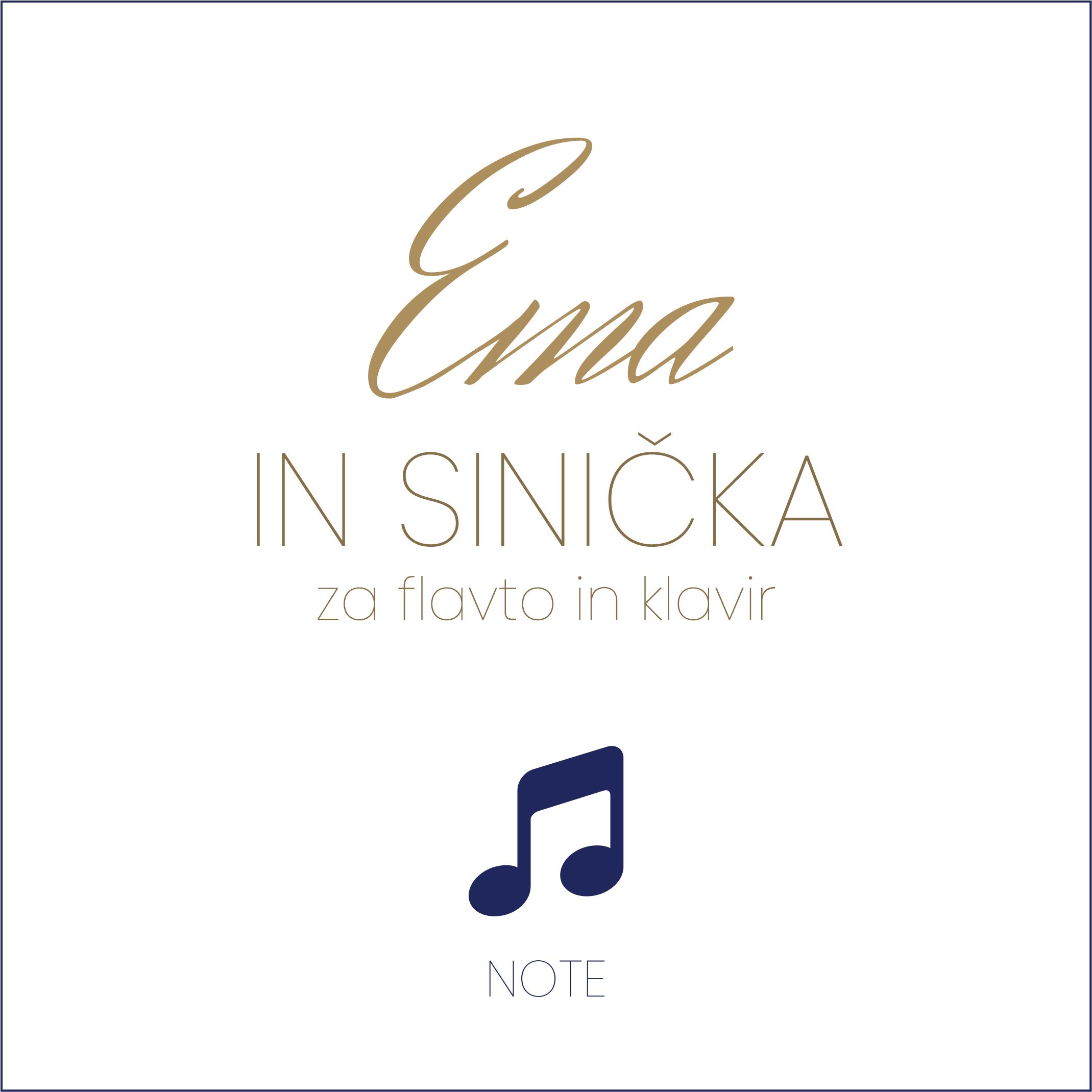 NOTE: Ema in sinička (za flavto in klavir)